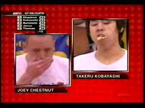 Hot Dog Eating Contest 2007