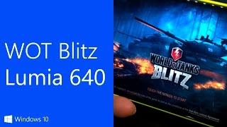 Как работает игра World Of Tanks Blitz на Mic...
