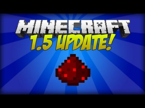 Minecraft 1.5: Redstone Update Full Overview!