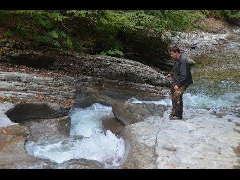 ловля форели в горных реках кавказа видео