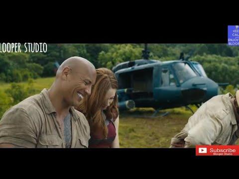 Jumanji- Welcome to the jungle hilarious bloopers🤣