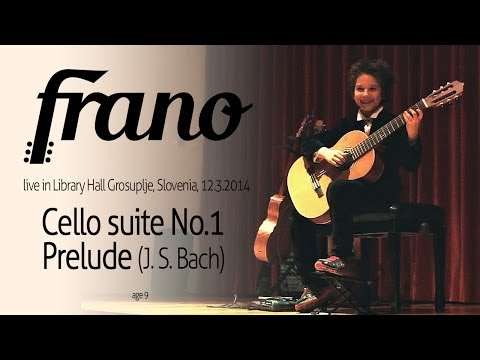 Frano plays Bach