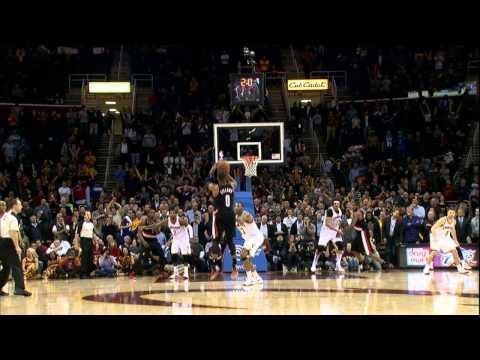 IN - Damian Lillard sinks the dead-on three as time expires to beat the Cavaliers. Visit nba.com/video for more highlights. About the NBA: The NBA is the premier ...