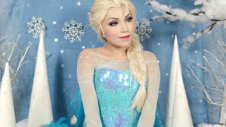 Disney's Frozen Elsa Makeup Tutorial - YouTube
