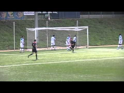 Men's Soccer First Program Goal