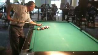 Dr. Cue Billiards Trick Shot
