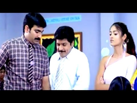 Khatarnak Full Movie ||  Back To Back Comedy Scenes Part 02 || Ravi Teja,Ileana