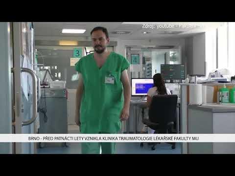 TV Brno 1: 1.12.2017 Před patnácti lety vznikla klinika traumatologie Lékařské fakulty MU