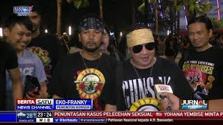 Download Video Ribuan Penonton Padati Konser Guns n Roses MP3 3GP MP4