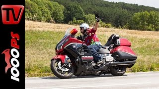8. Review Honda Goldwing 2015 | Action, Features, Sound