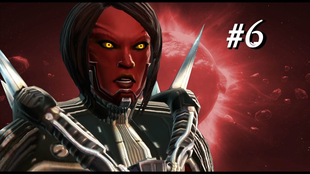 SWTOR Female Pureblood Sith Warrior Storyline Part 6 (Darkside)