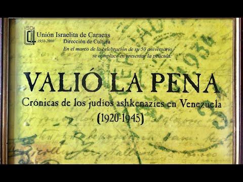 Historia de los Judios de Venezuela, 50 Aniversario de la Unión Israelita de Caracas. Va… видео