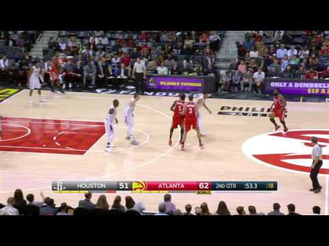 NBA Highlights: Rockets @ Hawks 11/5/2016