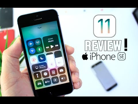 iPhone SE iOS 11 Review