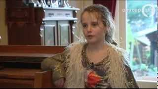 Amira (9) Opera Singer Of Holland's Got Talent Sings At Home