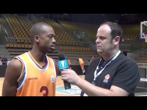 Eurocup Finals Interview: Errick McCollum, Galatasaray Odeabank Istanbul