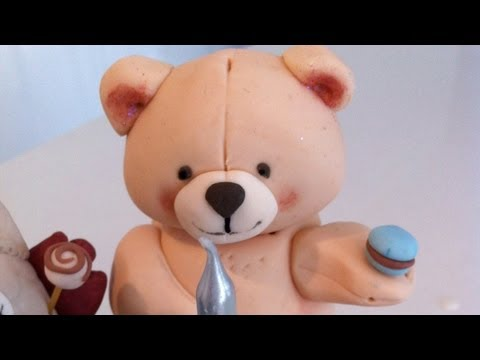 How To Make A 3D Fondant Teddy Bear Cake Decorating Tutorial How To Cook That Ann Reardon