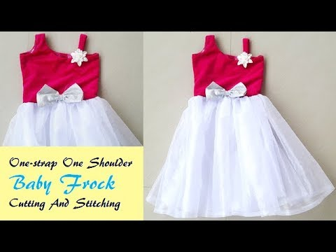 Video One- Strap One Shoulder Baby frock Cutting And Stitching by PN'z World download in MP3, 3GP, MP4, WEBM, AVI, FLV January 2017
