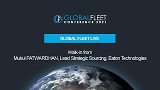 Walk-in from Mukul PATWARDHAN, Lead Strategic Sourcing, Eaton Technologies