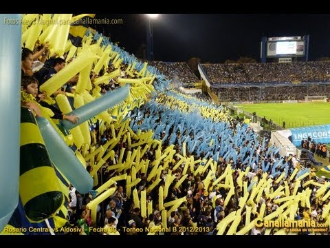 Video - Hinchada Rosario Central vs Aldosivi 28-05-13 (Canallamania.com) HD - Los Guerreros - Rosario Central - Argentina