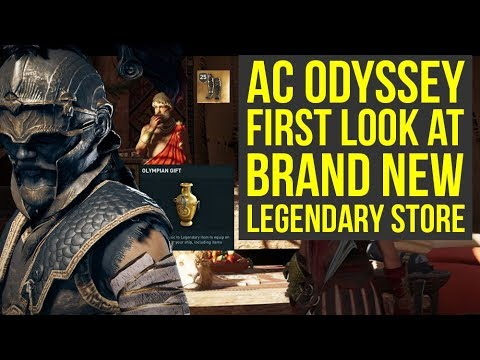 Assassin's Creed Odyssey Gameplay FIRST LOOK At Legendary Store (AC Odyssey Gameplay)