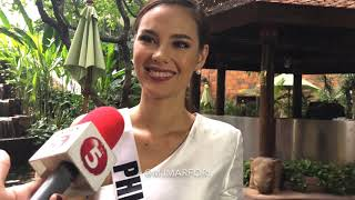 Video Catriona Gray a day before Miss Universe, on Tyra Banks, Miss U controversy & win or lose MP3, 3GP, MP4, WEBM, AVI, FLV Desember 2018