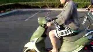 7. Riding my Buddy Scooter
