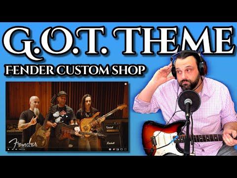 Guitarist REACTS to Fender Custom Shop Game of Thrones SIGIL Series