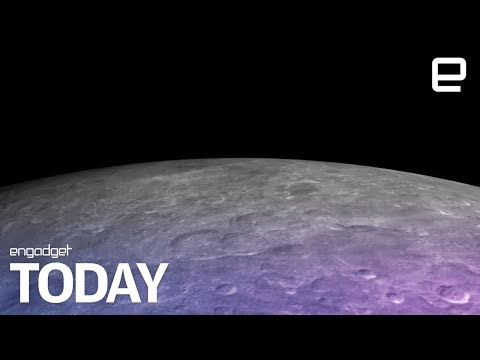 Water ice discovered on the moon's surface | Engadget Today (видео)
