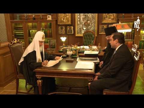 Губернатор отчитывается перед патриархом