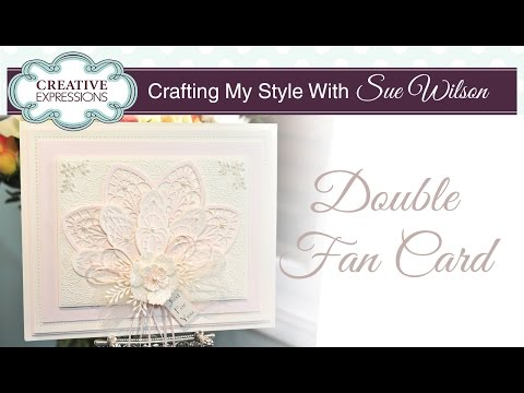 Elegant Ornate Style Card | Crafting My Style with Sue Wilson