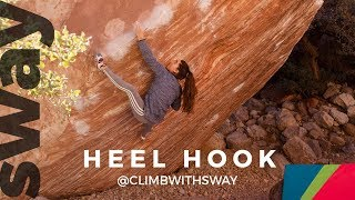How To Train Heel Hooks | Climb With Sway by  WeDefy