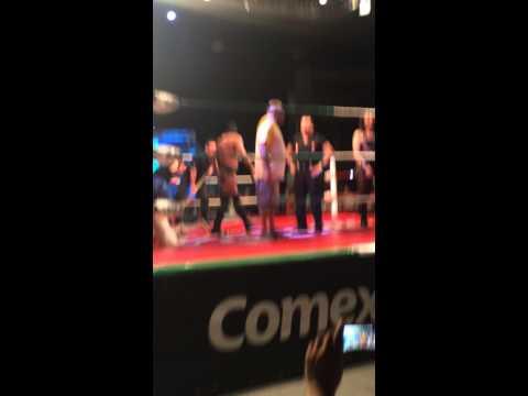 Taya Valkyrie reta a Faby Apache por el campeonato reina de reinas para triplemania XXII en xalapa