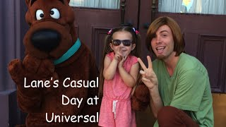 Lane's Casual Day at Universal Orlando