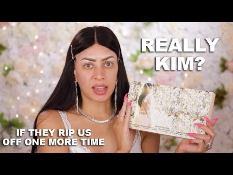 $100 For This REALLY?! KKW Beauty Mrs. West Collection