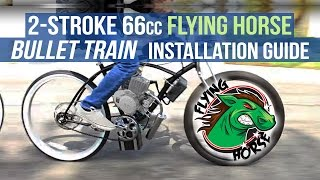 Learn more about the Bullet Train Engine KIt here ► https://goo.gl/ZnDRBEThe first 2-stroke motorized bicycle engine kit with an automatic clutch (centrifugal) and electric start.Download our 2-Stroke 66/80cc Centrifugal Clutch Electric Start Engine Kit e-book ► https://goo.gl/3G29HnBikeBerry.com ►http://bit.ly/1FZ8nPpFacebook ► http://on.fb.me/1wWG4fDInstagram ► http://bit.ly/1aM3WxZTwitter ► https://twitter.com/bikeberrycomEverything you need to make your own Motorized Bicycle.