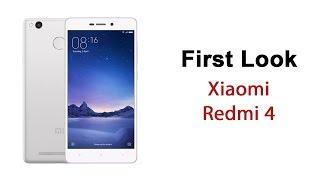 Xiaomi Redmi 4 First Look