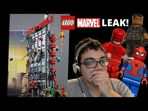 LEGO Marvel Daily Bugle Summer 2021 LEAK! AMAZING Spider-Man set!