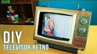 Televisor RETRO DIY  Regalo para Papá o Mamá VINTAGE