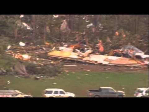 Strike - Tornadoes and severe weather struck the states from Texas to Minnesota on Sunday. The worst damage reported is in Oklahoma, where one person was killed and a...