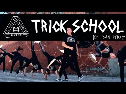 Learn Tricking: Hyper Trick School By Dan Perez | Martial Arts Tricking Training Program