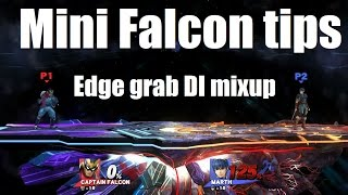 Advanced Captain Falcon tech: Edge grab DI mixup