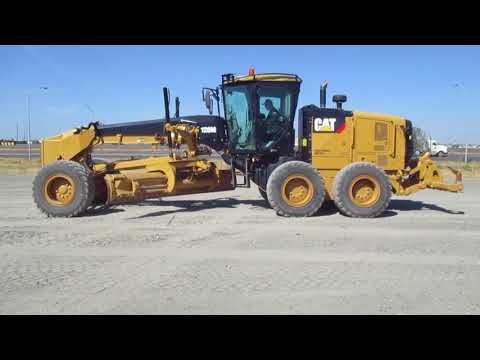 CATERPILLAR MOTOR GRADERS 120M2 equipment video _Vg2DkTk0P4