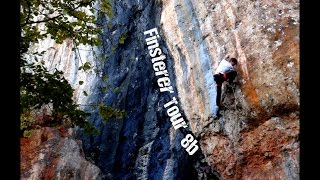 Finsterer Tour 8b / 5.13d (Hohe Wand, Hochkogel) | Uncut Ascent by Mani the Monkey