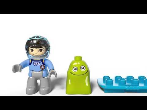 Конструктор Космические приключения Майлза - LEGO DUPLO - фото № 6