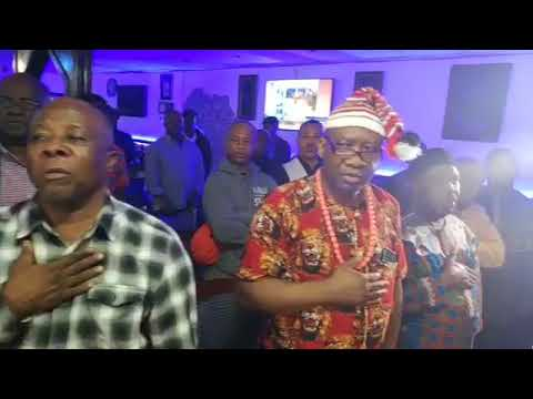 Omeyele Sowore meeting with the Ndi Igbo community in New Jersey