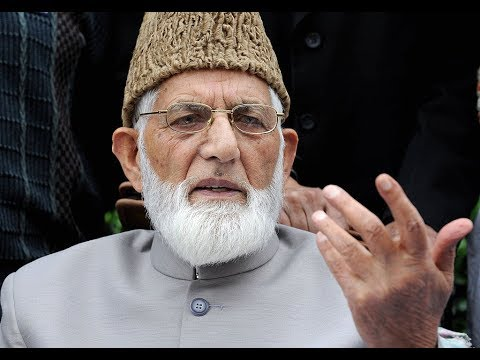 Syed Ali Geelani's press conference scuttled by police