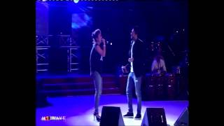 Mn Alby Baghany with Sherine Abd El Wahab