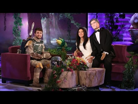 or - Dressed as Boba Fett, the actor told Ellen about his history with Halloween.