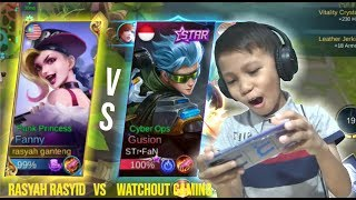 Video FANNY VS GUSION BANG MALIK, KALAH LAGI DONG DIA - MOBILE LEGENDS INDONESIA MP3, 3GP, MP4, WEBM, AVI, FLV Februari 2019